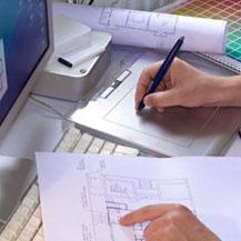 Onze 3D designers en tekenaars staan voor u klaar
